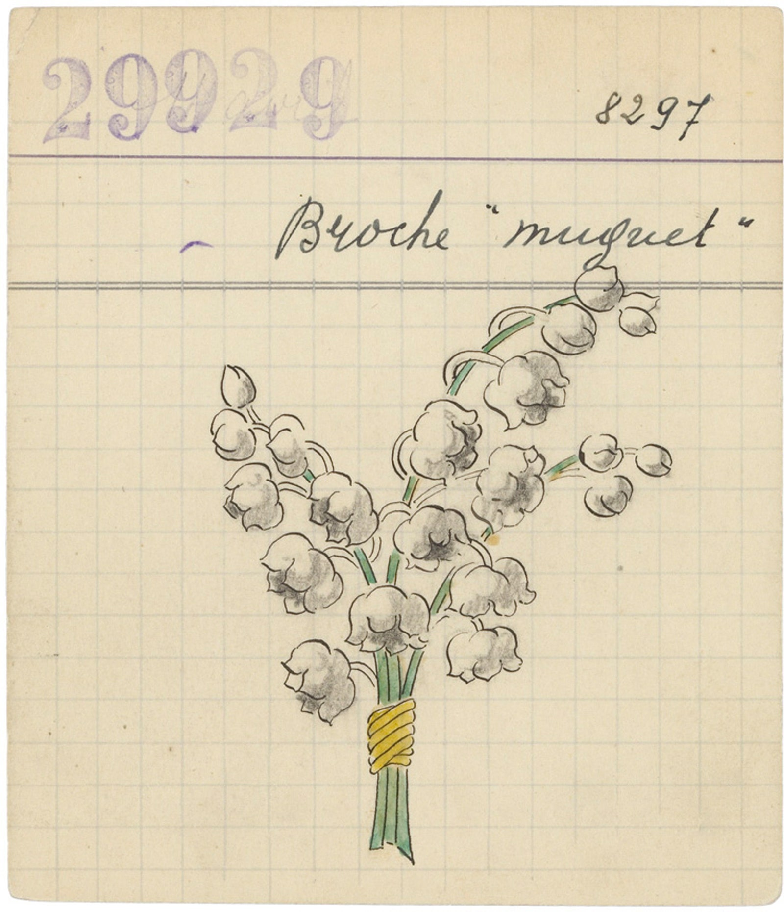 Lily of the Valley Flowers 1927 .