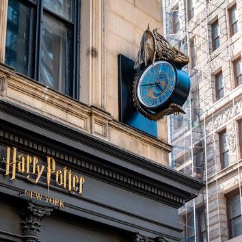 В Нью-Йорке открылся магазин вселенной Гарри Поттера