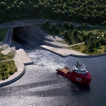 Snøhetta построит первый в мире тоннель для кораблей