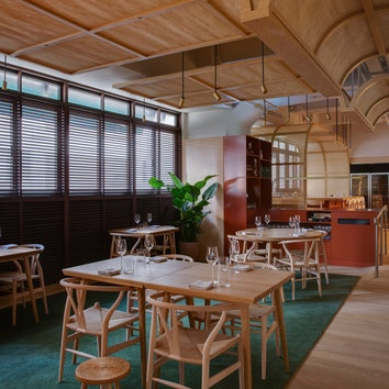 Ресторан по проекту бюро Snøhetta в Гонконге