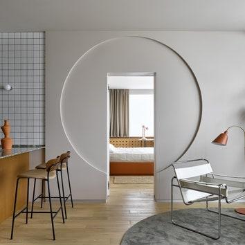Апартаменты на Ходынке по проекту Александры Потаповой, 70 м²