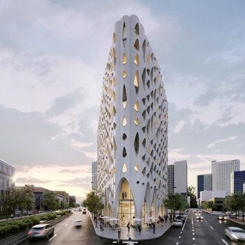 Проект нового отеля Populus в Денвере от Studio Gang