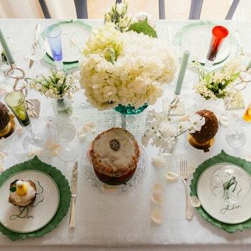 Как сервировать стол на Пасху: весенняя сервировка от Татьяны Рогаченко