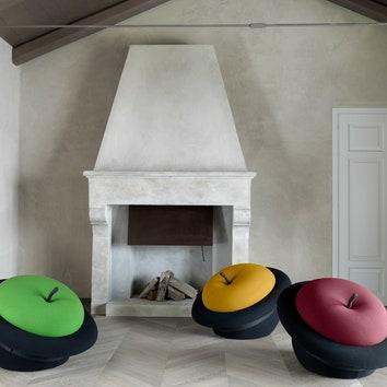 Легендарное кресло MAgriTTA от Gufram в новых цветах