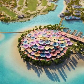 Бюро Foster + Partners построит курорт в Саудовской Аравии