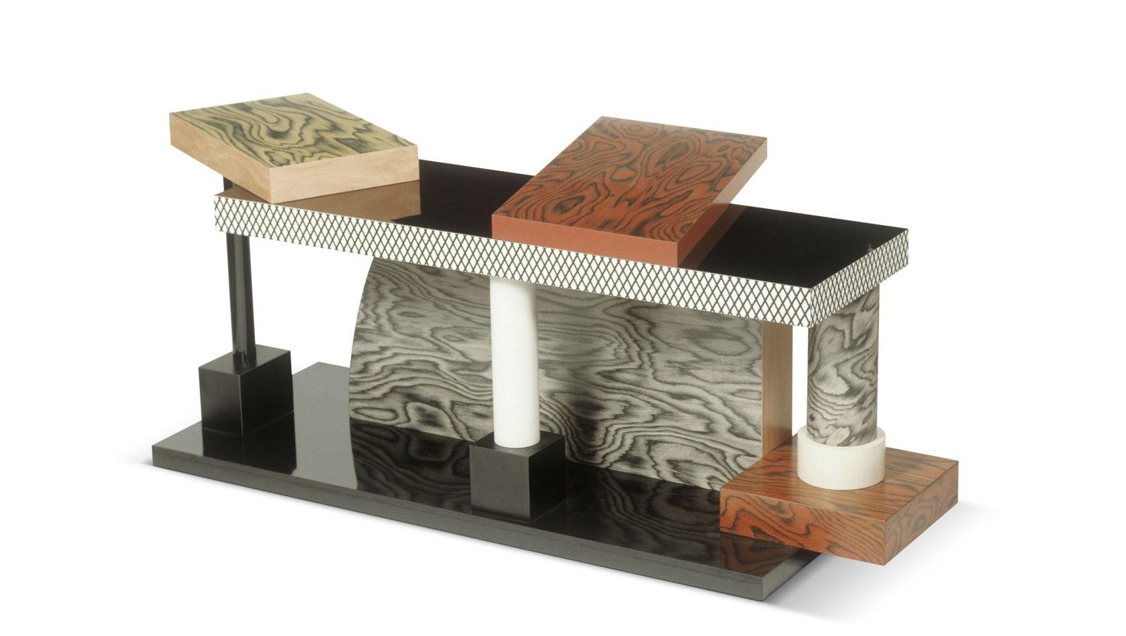 Ettore Sottsass table Tartar 1985  VG BildKunst Bonn 2021  Vitra Design Museum photo Andreas Jung