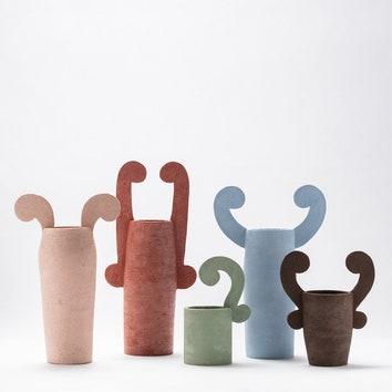 Забавная керамика по дизайну Клаудии Карпенито