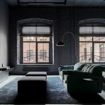 Квартира в здании бывшей фабрики, 150 м²