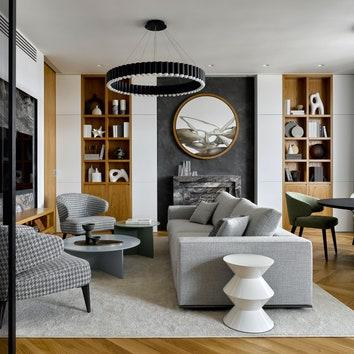 Квартира в Москве, 205 м²