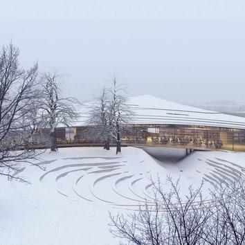 Бюро Кенго Кумы построит в Норвегии Библиотеку Ибсена