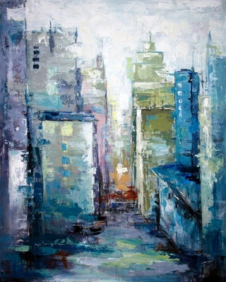 Citys Eye  Artists Guild ofAmerica.