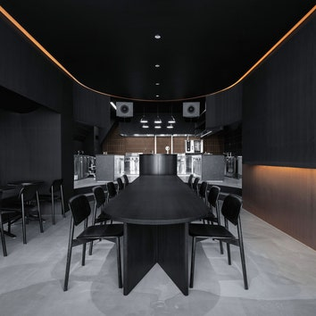 Burnside: экспериментальное кулинарное пространство по проекту Snøhetta