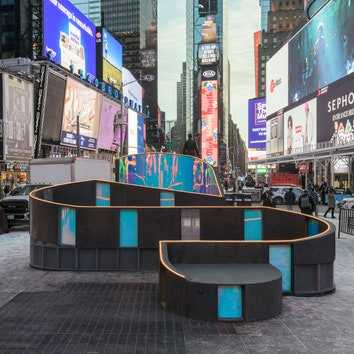 Love Letters: инсталляция на Таймс-сквер