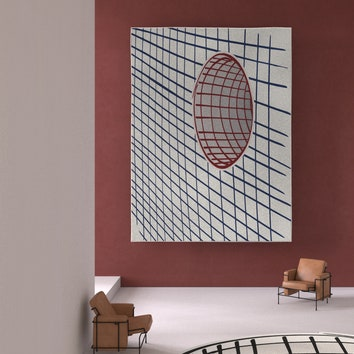 Оптические ковры по дизайну Алена Жиля