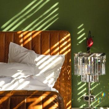 Вдохновение на неделю: спальни в зеленом цвете