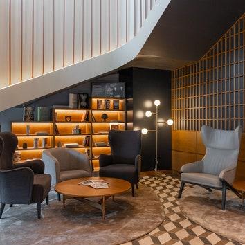 Технологичный дизайн: первый отель Mövenpick в Москве