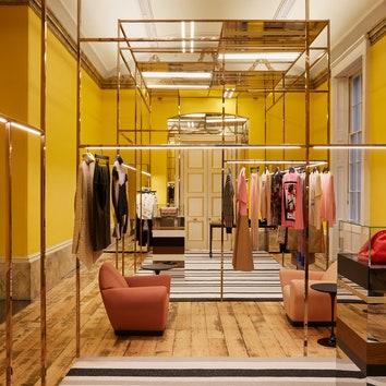 Шоурум в Лондоне по дизайну Dimorestudio