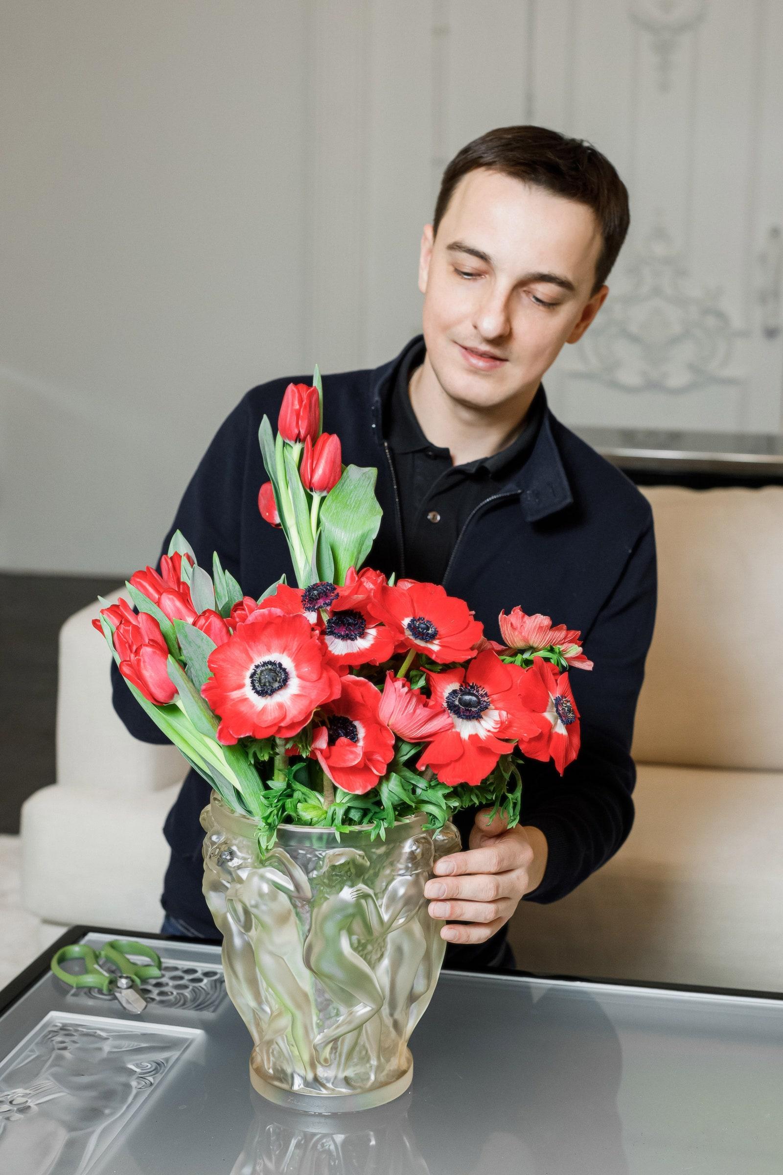 Home de Fleur  .   Lalique 436 00 .