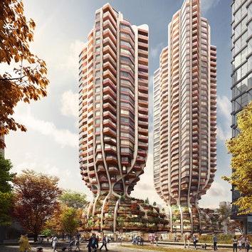 В Ванкувере построят два жилых небоскреба по проекту Heatherwick Studio