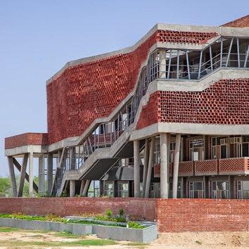 Студенческое общежитие в Индии