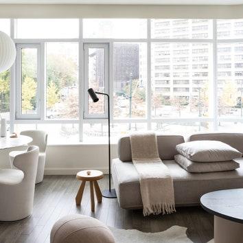 Светлая квартира на Манхэттене