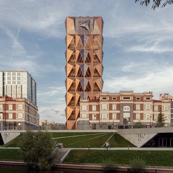Новая штаб-квартира РМК в Екатеринбурге по проекту Foster + Partners