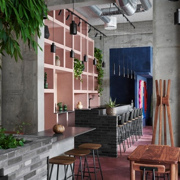 Ресторан в духе Луиса Баррагана в Копенгагене