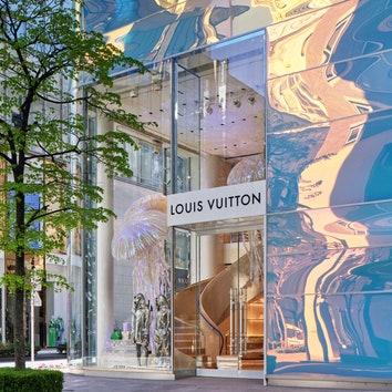Обновленный магазин Louis Vuitton Ginza Namiki в Токио