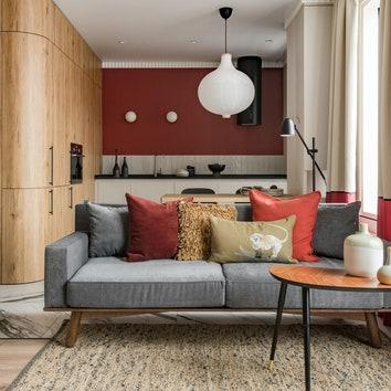 Дизайн квартиры-студии: 8 интерьеров от 28 до 55 м²