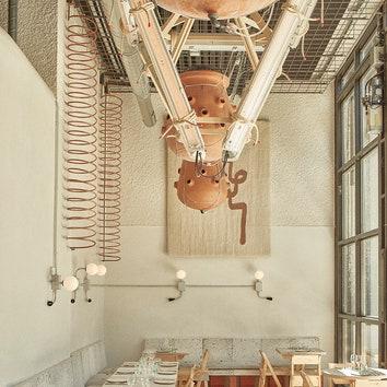 Экологичный ресторан в Мадриде