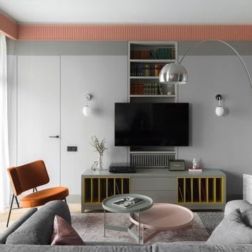 Квартира в Москве по проекту ANCconcept, 55 м²