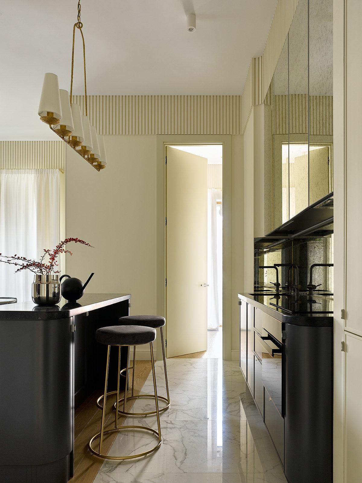 .       Austen Round Bar Stool   Visual Comfort amp Co.