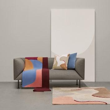 Коллекция текстиля по эскизам Димы Логинова для Tkano