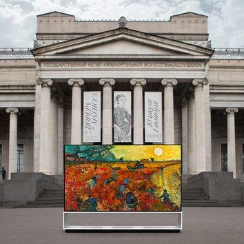 Технологии дополняют искусство: LG Signature объявляет о старте сотрудничества с Пушкинским музеем