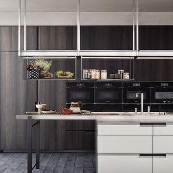 Как сохранить чистоту линий в минималистичном интерьере кухни: оптимальное решение от Poliform