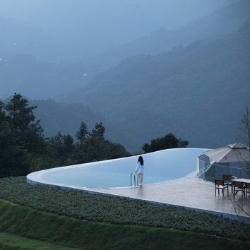 Горный отель в провинции Хубэй