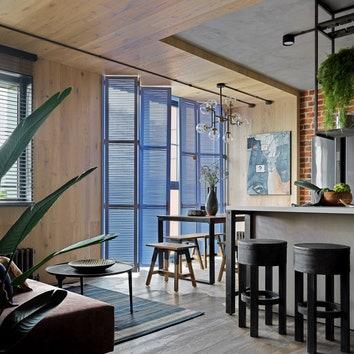 Квартира в стиле лофт по дизайну Киры Яковлевой
