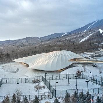 Конференц-центр в горах Китая по проекту бюро MAD