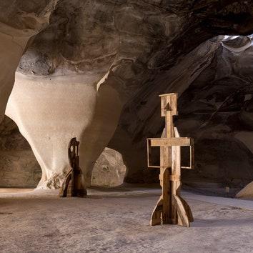 Современное искусство в пещерах Израиля