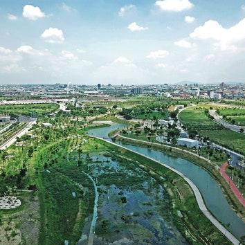 Инновационный парк в Тайчжуне
