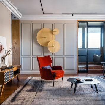 Семейная квартира в Москве, 150 м²