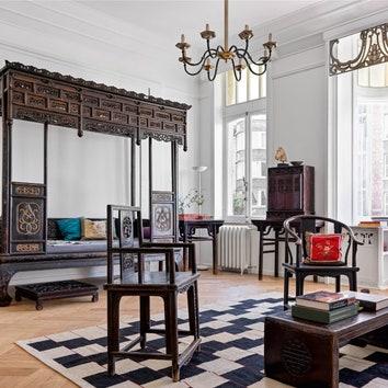 Квартира для коллекционера в Брюсселе по проекту Марины Брагинской