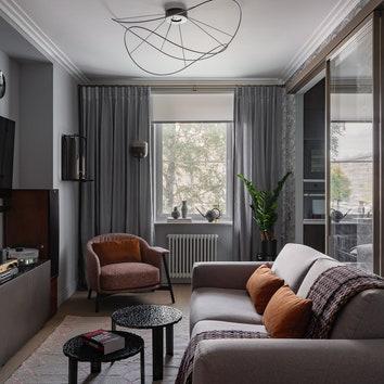 Квартира для коллекционера виниловых пластинок, 59 м²
