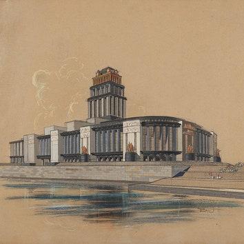 Паблик недели: советская архитектура в проекте MCMXXXV