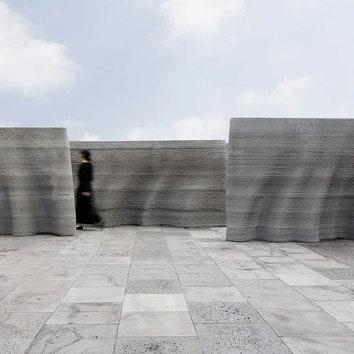 Инсталляция из бетона в Южной Корее