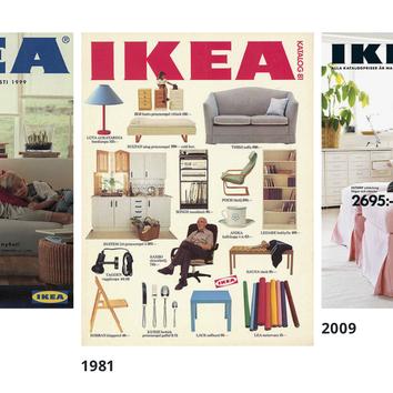 IKEA выложила свои архивные каталоги в открытый доступ