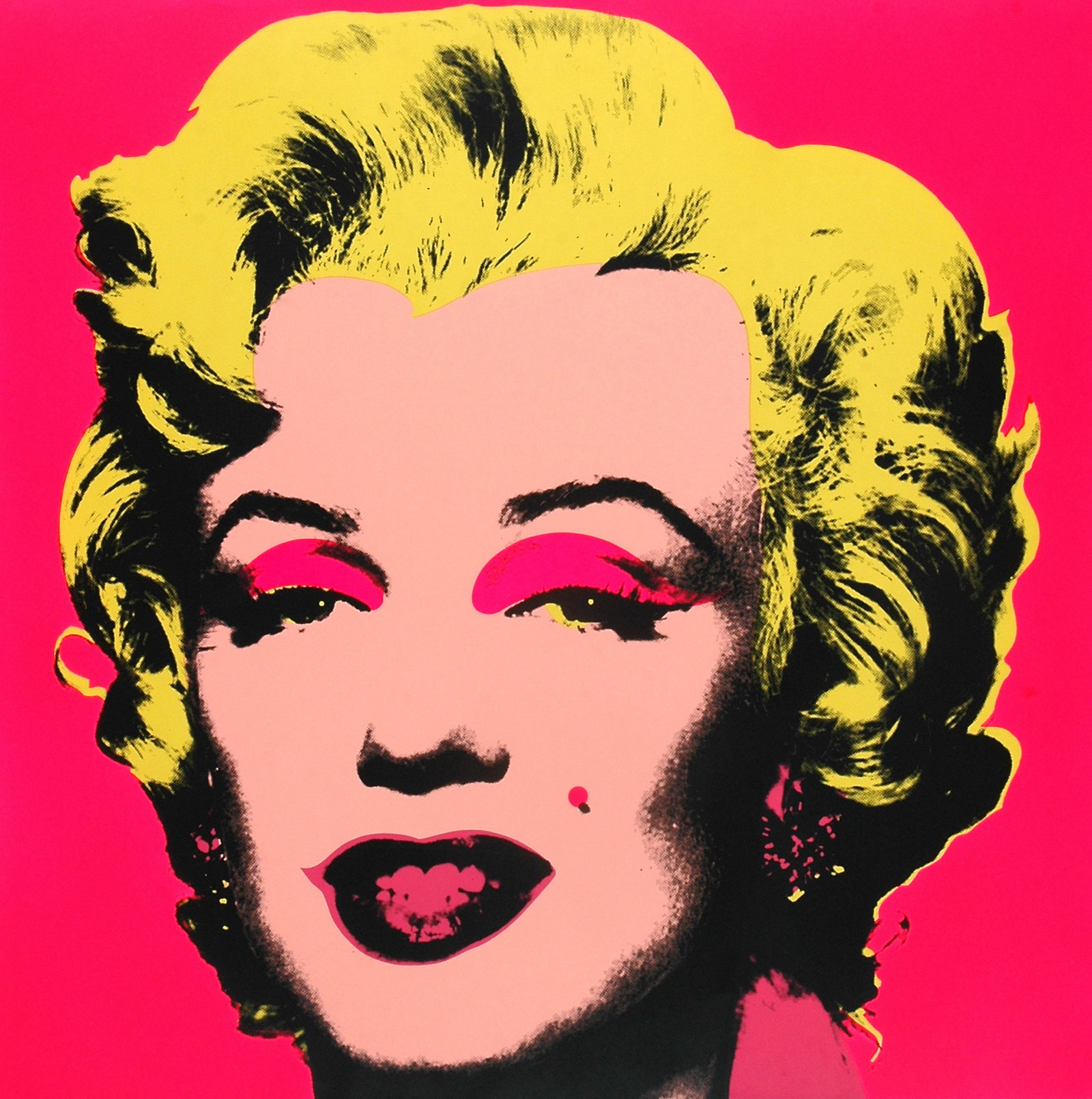 Marilyn. All Andy Warhol artwork  2018 The Andy Warhol Foundation for the Visual Arts