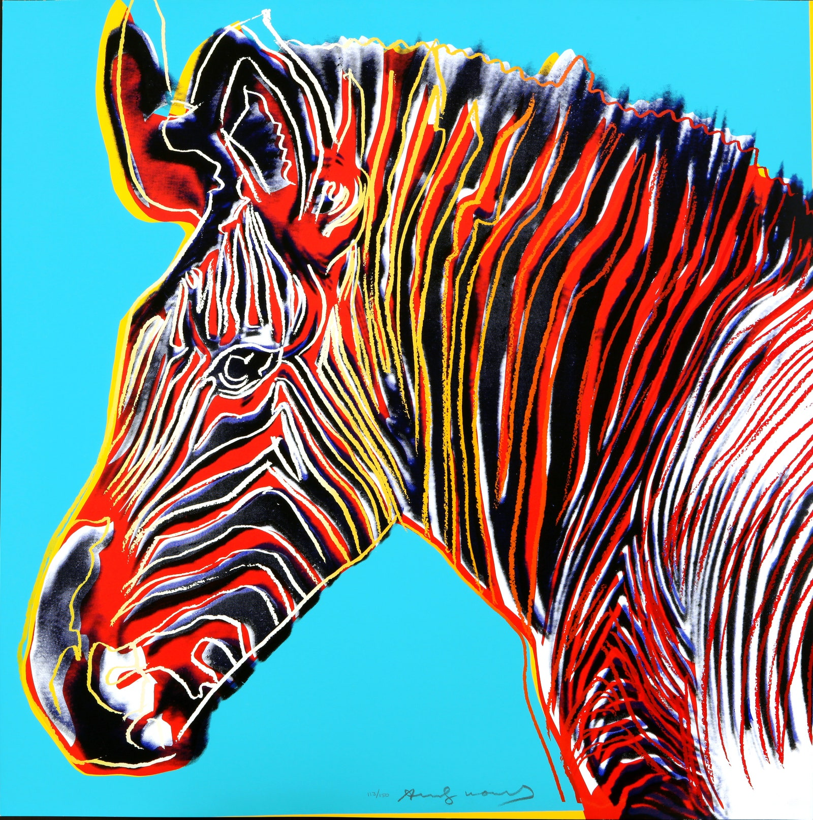 Endangered Spieces. All Andy Warhol artwork  2018 The Andy Warhol Foundation for the Visual Arts