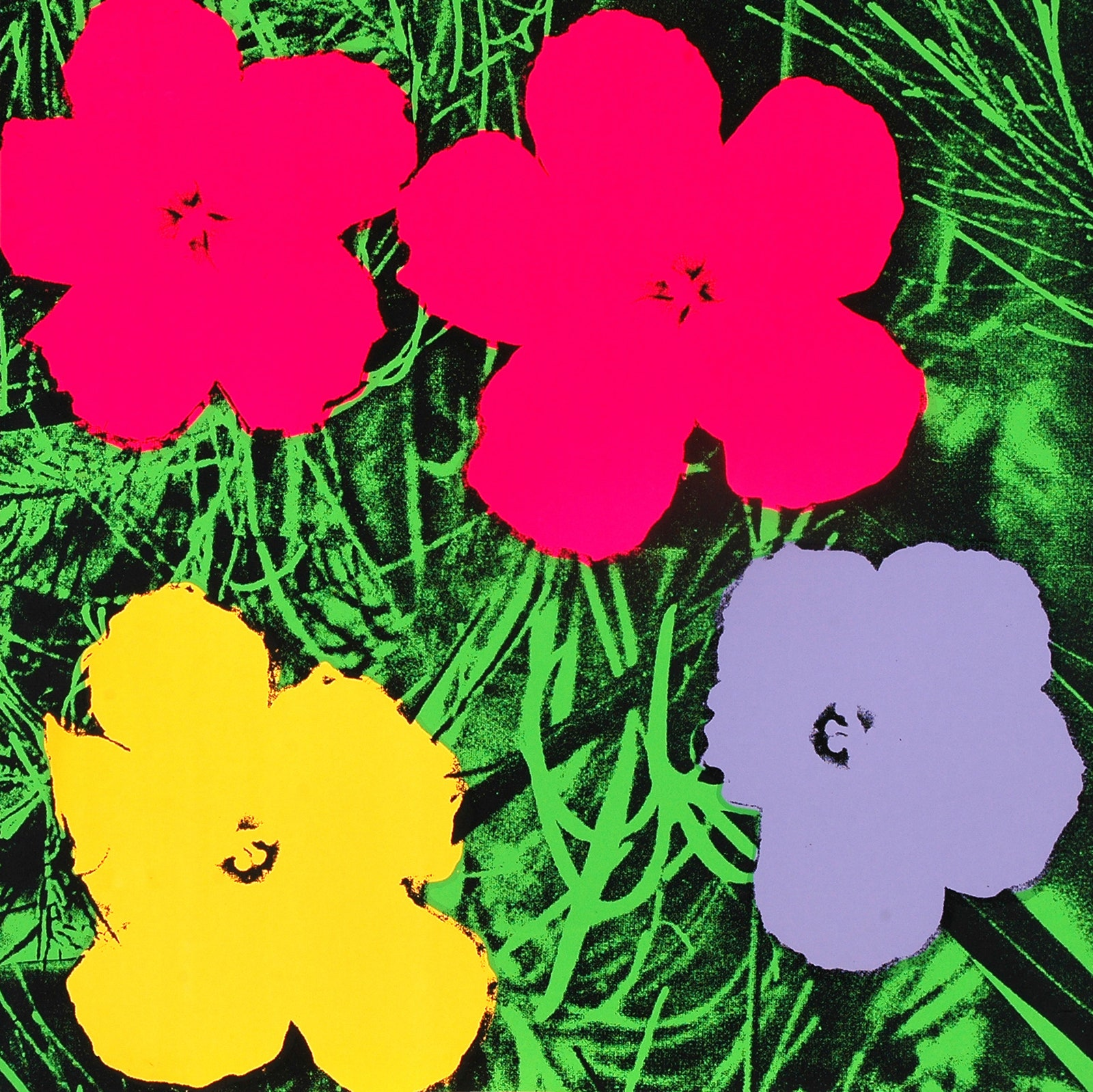 Flowers. All Andy Warhol artwork  2018 The Andy Warhol Foundation for the Visual Arts