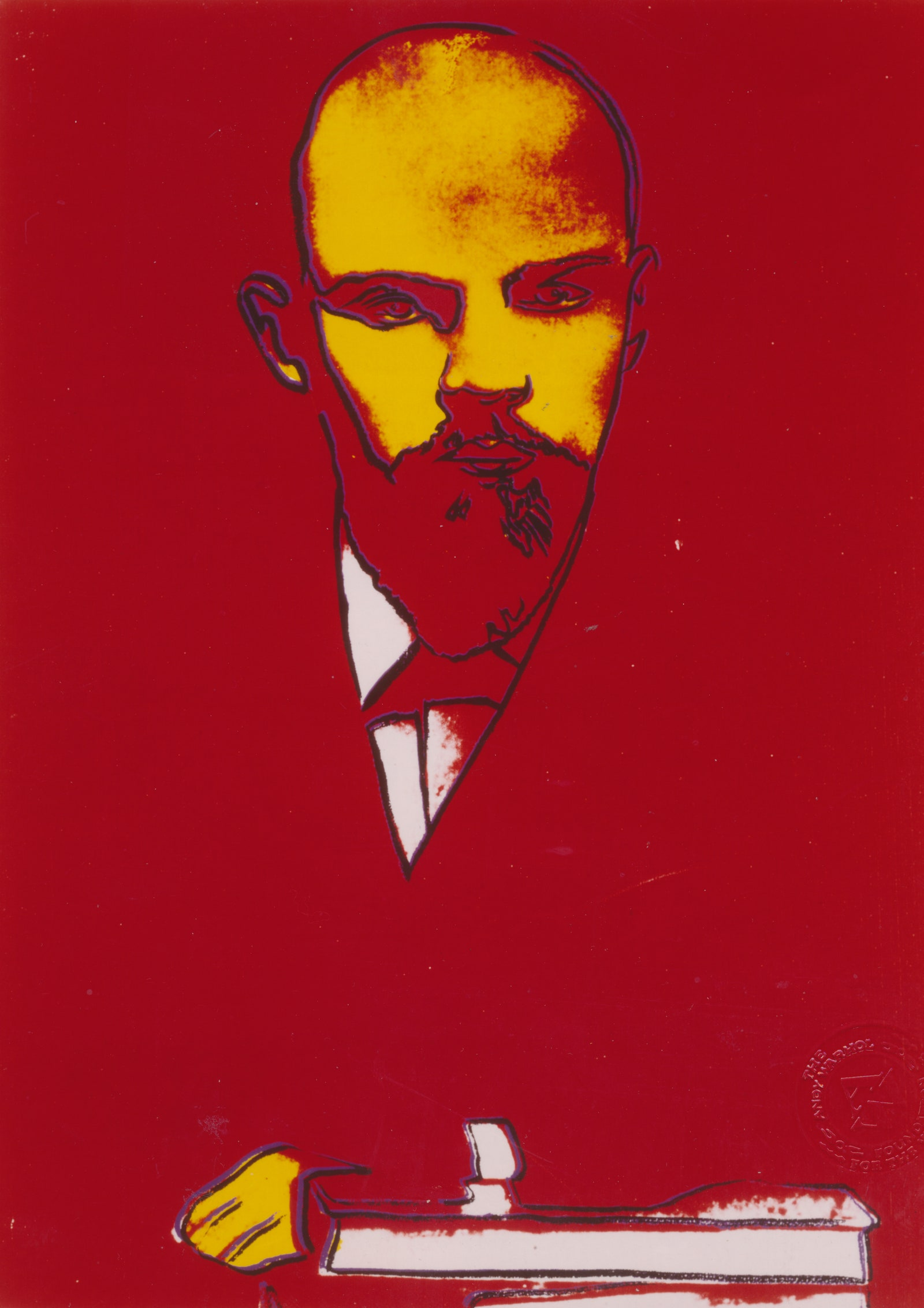 Lenin Red. All Andy Warhol artwork  2018 The Andy Warhol Foundation for the Visual Arts